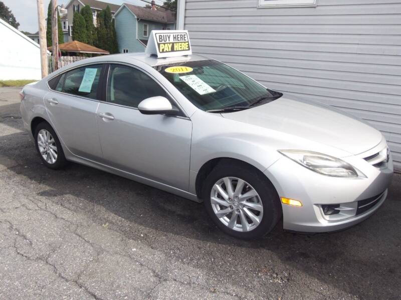 2011 Mazda MAZDA6 for sale at Fulmer Auto Cycle Sales - Fulmer Auto Sales in Easton PA