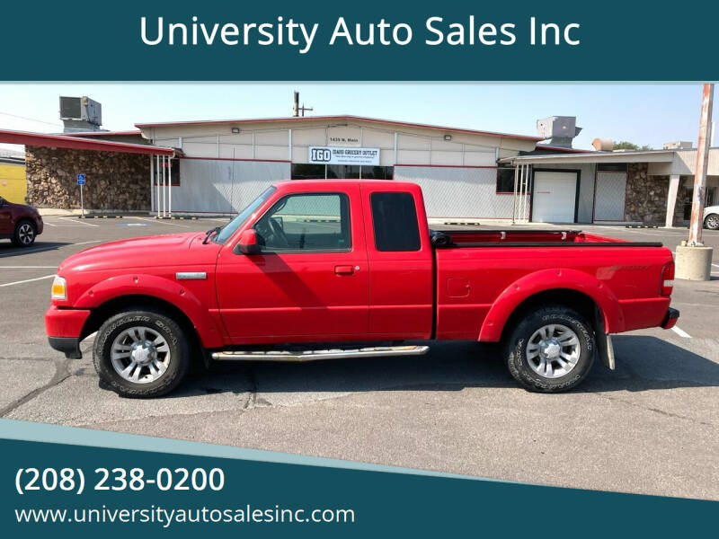 2008 Ford Ranger for sale at University Auto Sales Inc in Pocatello ID