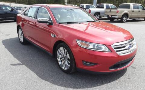 2012 Ford Taurus for sale at Mathews Used Cars, Inc. in Crawford GA