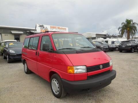 1993 Volkswagen EuroVan for sale at DMC Motors of Florida in Orlando FL