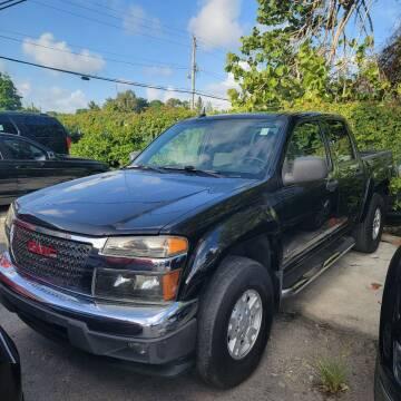 2006 GMC Canyon for sale at America Auto Wholesale Inc in Miami FL