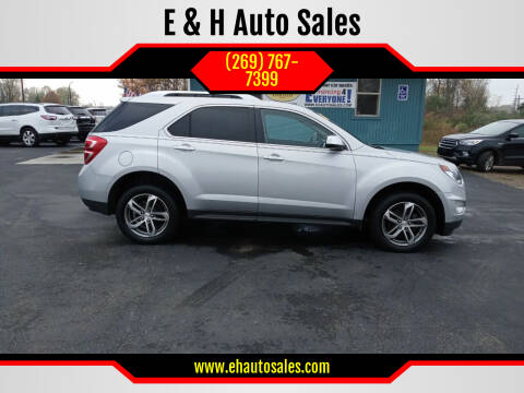 2017 Chevrolet Equinox for sale at E & H Auto Sales in South Haven MI