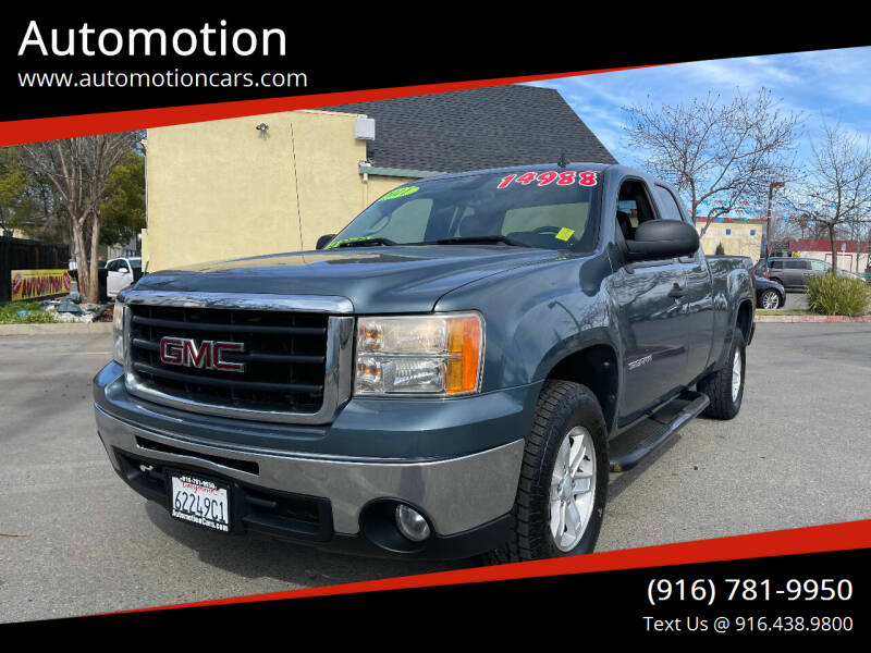 2011 GMC Sierra 1500 for sale at Automotion in Roseville CA
