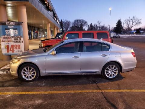 2007 Lexus GS 350 for sale at GOOD NEWS AUTO SALES in Fargo ND