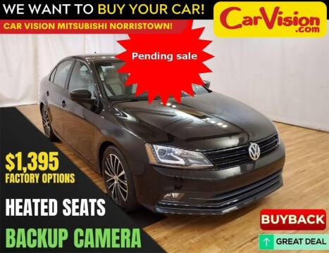 2016 Volkswagen Jetta for sale at Car Vision Mitsubishi Norristown in Norristown PA