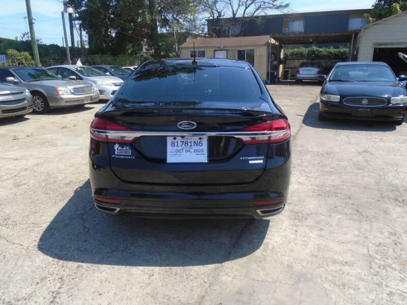 2017 Ford Fusion Titanium 4dr Sedan - Houston TX