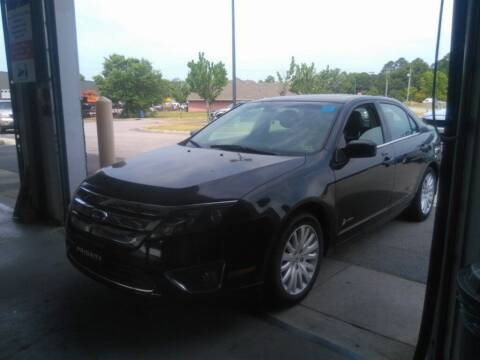 2012 Ford Fusion Hybrid for sale at Smart Chevrolet in Madison NC