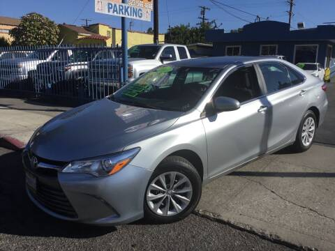 2017 Toyota Camry for sale at LA PLAYITA AUTO SALES INC in South Gate CA