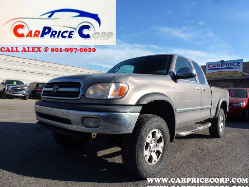 2000 Toyota Tundra for sale at CarPrice Corp in Murray UT