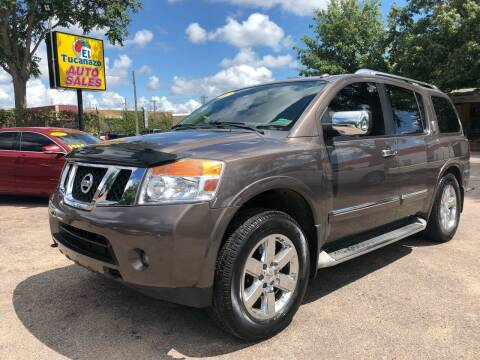 2013 Nissan Armada for sale at El Tucanazo Auto Sales in Grand Island NE