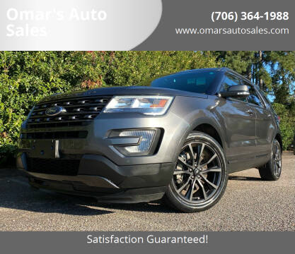 2017 Ford Explorer for sale at Omar's Auto Sales in Martinez GA