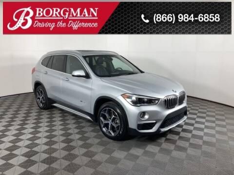 2017 BMW X1 for sale at BORGMAN OF HOLLAND LLC in Holland MI