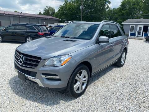 2012 Mercedes-Benz M-Class for sale at Davidson Auto Deals in Syracuse IN