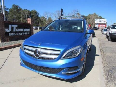 2014 Mercedes-Benz B-Class for sale at J T Auto Group in Sanford NC