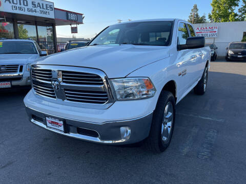 2015 RAM Ram Pickup 1500 for sale at Adams Auto Sales in Sacramento CA