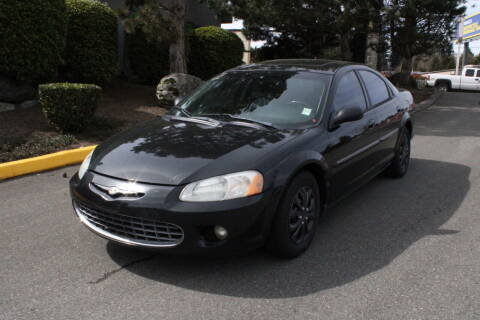2003 Chrysler Sebring for sale at SS MOTORS LLC in Edmonds WA