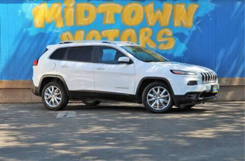 2014 Jeep Cherokee for sale at Midtown Motors in San Jose CA