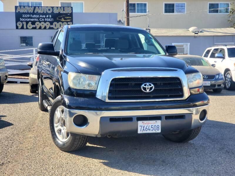 2008 Toyota Tundra for sale at AMW Auto Sales in Sacramento CA