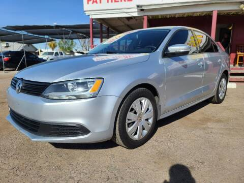 2012 Volkswagen Jetta for sale at Fast Trac Auto Sales in Phoenix AZ