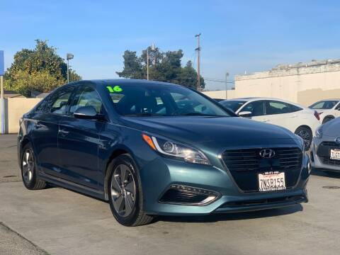 2016 Hyundai Sonata Hybrid for sale at H & K Auto Sales & Leasing in San Jose CA