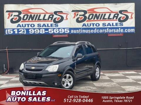 2012 Chevrolet Captiva Sport for sale at Bonillas Auto Sales in Austin TX