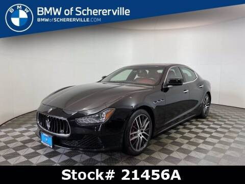 2014 Maserati Ghibli for sale at BMW of Schererville in Shererville IN