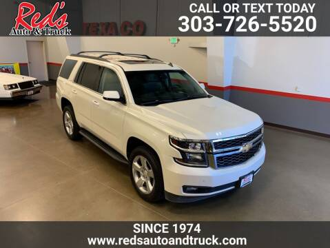 2015 Chevrolet Tahoe for sale at Red's Auto and Truck in Longmont CO