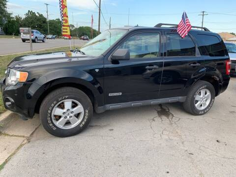 2008 Ford Escape for sale at Fast Car Automotive in Ypsilanti MI