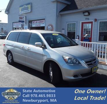 2006 Honda Odyssey for sale at State Automotive Sales in Newburyport MA
