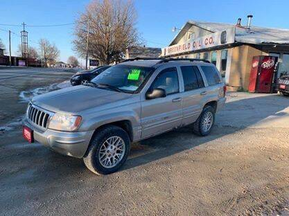 2004 Jeep Grand Cherokee for sale at GREENFIELD AUTO SALES in Greenfield IA