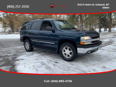 2005 Chevrolet Tahoe for sale at Auto Solutions in Kalispell MT