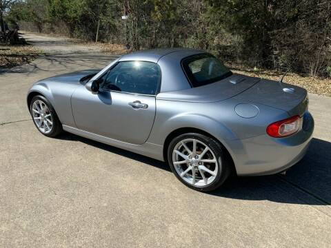 2012 Mazda MX-5 Miata for sale at TROPHY MOTORS in New Braunfels TX