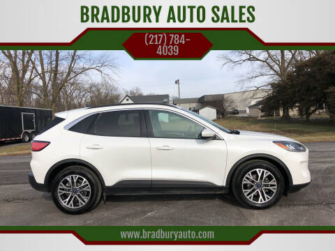 2020 Ford Escape for sale at BRADBURY AUTO SALES in Gibson City IL