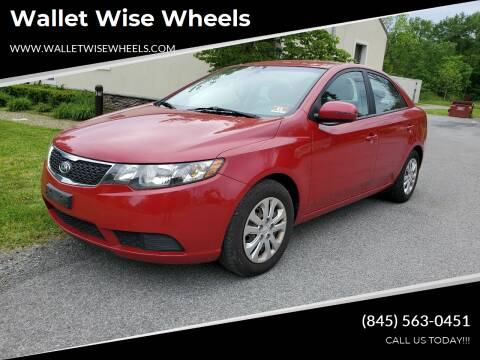 2013 Kia Forte for sale at Wallet Wise Wheels in Montgomery NY