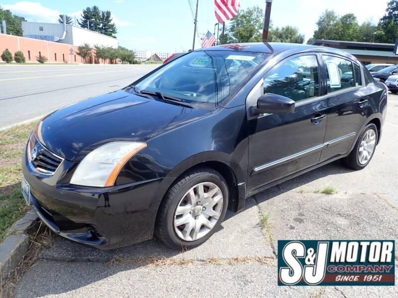 2011 Nissan Sentra for sale at S & J Motor Co Inc. in Merrimack NH