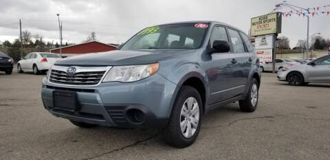 2010 Subaru Forester for sale at Boise Motor Sports in Boise ID