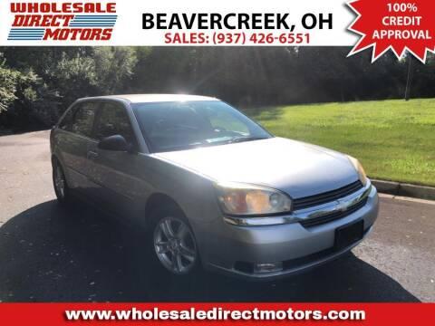 2005 Chevrolet Malibu Maxx for sale at WHOLESALE DIRECT MOTORS in Beavercreek OH