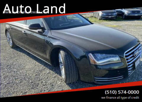 2012 Audi A8 L for sale at Auto Land in Newark CA