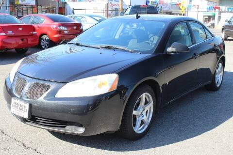 2009 Pontiac G6 for sale at Grasso's Auto Sales in Providence RI