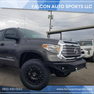2015 Toyota Tundra for sale at Falcon Auto Sports LLC in Murray UT
