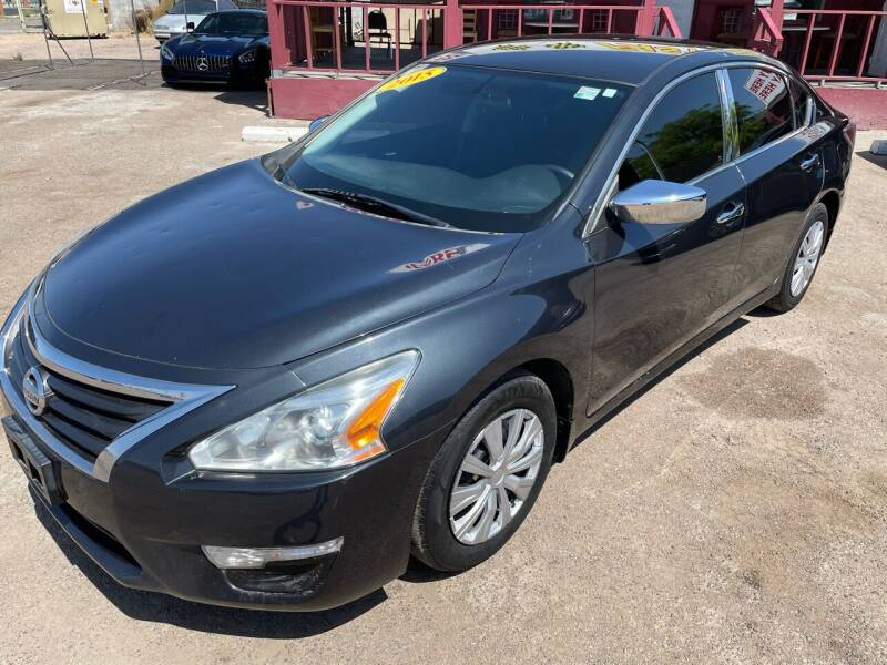 2015 Nissan Altima for sale at Fast Trac Auto Sales in Phoenix AZ