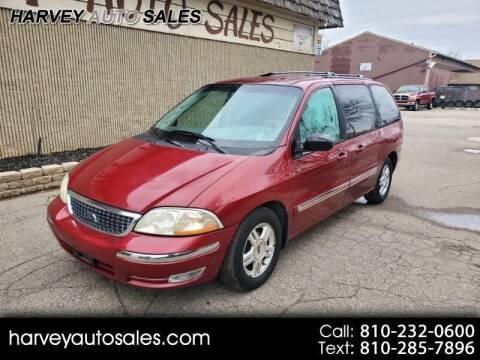 2002 Ford Windstar for sale at Harvey Auto Sales, LLC. in Flint MI