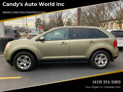 2012 Ford Edge for sale at Candy's Auto World Inc in Toledo OH