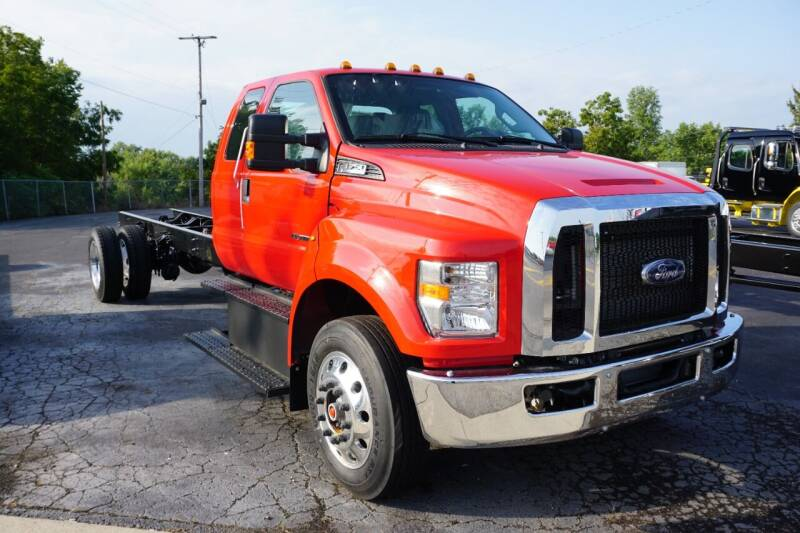 2022 Ford F-750 Super Duty Super Cab  for sale at Rick's Truck and Equipment in Kenton OH