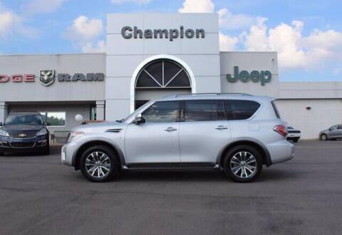 2019 Nissan Armada for sale at Champion Chevrolet in Athens AL