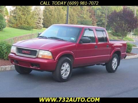 2002 GMC Sonoma for sale at Absolute Auto Solutions in Hamilton NJ