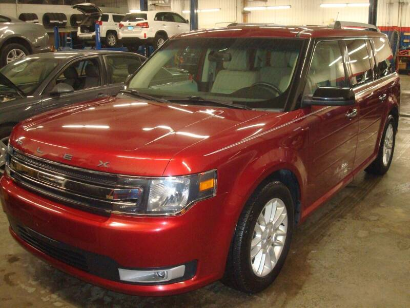 2015 Ford Flex for sale at Team Knipmeyer in Beardstown IL