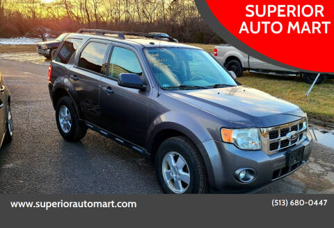 2012 Ford Escape for sale at SUPERIOR AUTO MART in Amelia OH