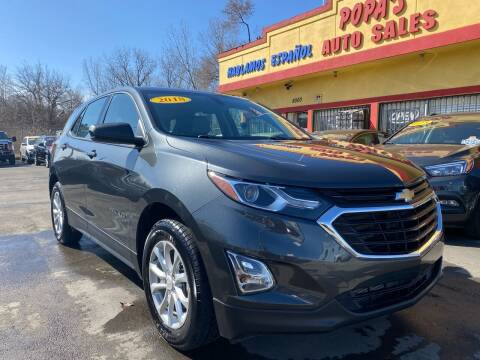 2018 Chevrolet Equinox for sale at Popas Auto Sales in Detroit MI