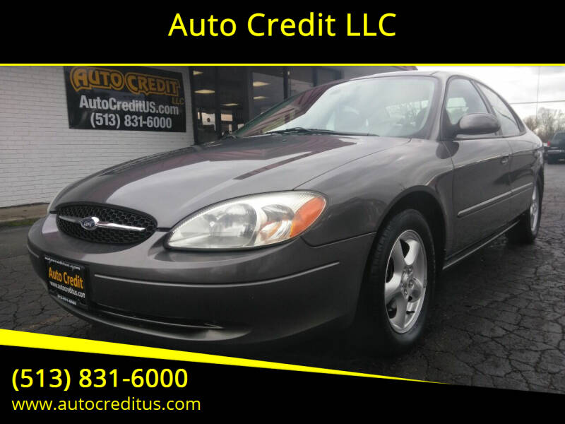 2003 Ford Taurus for sale at Auto Credit LLC in Milford OH